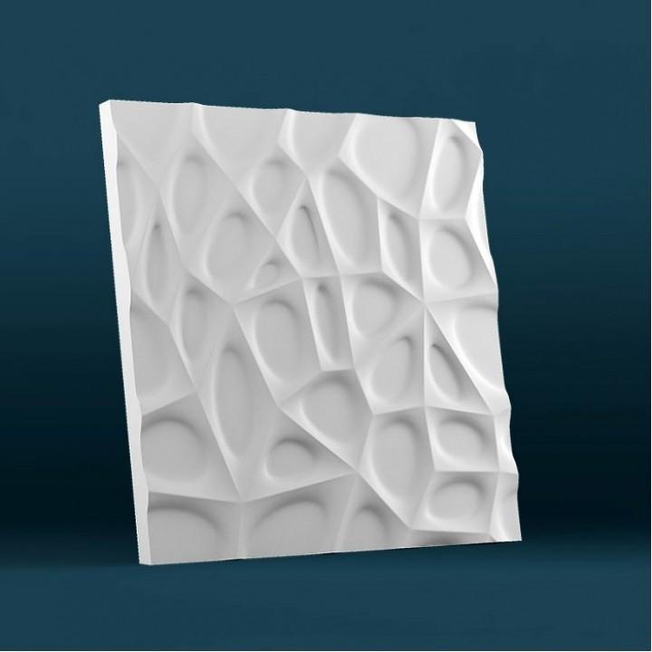 Гипсовая 3D-панель Паутина для декоративной отделки стен