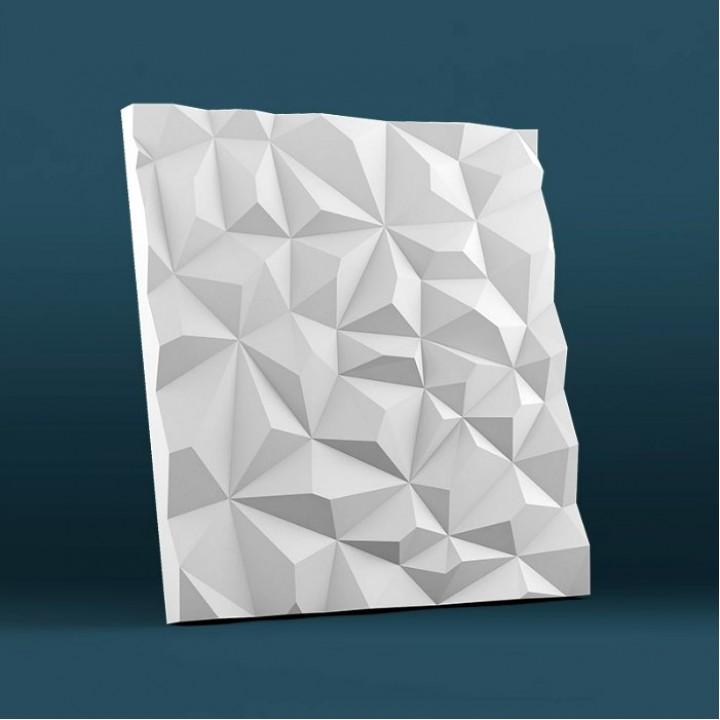 Гипсовая 3D-панель Скала для декоративной отделки стен