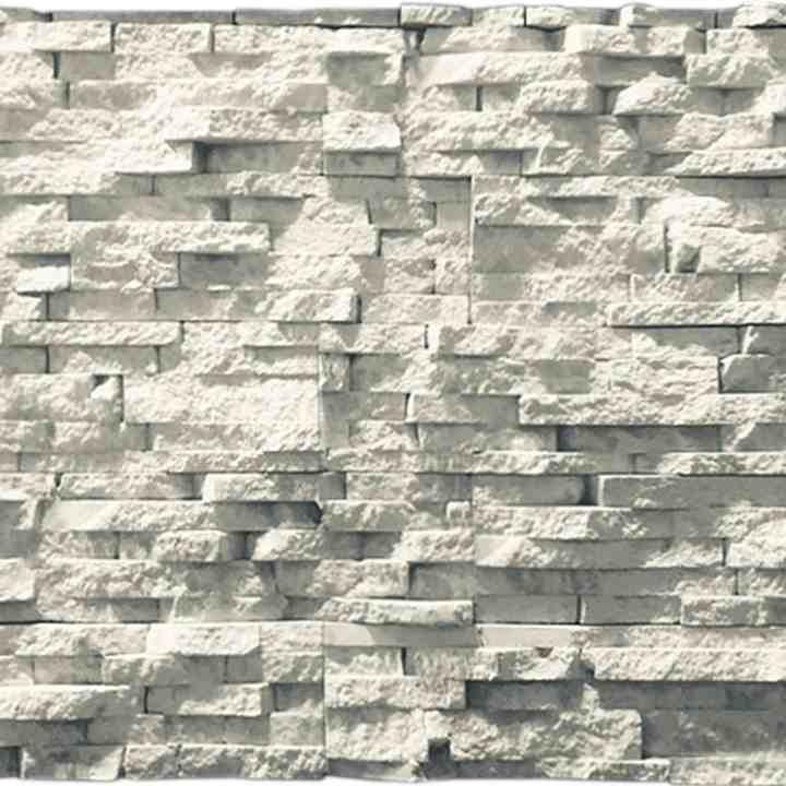Альпийский сланец Белый для внутренней отделки и облицовки