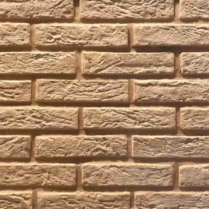 Интерьерный кирпич цвет № 2 для фасада для фасада и внешней отделки