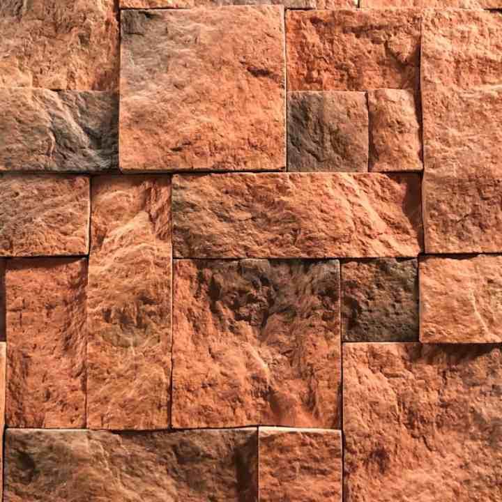 Рваный камень цвет № 4 для внутренней отделки и облицовки
