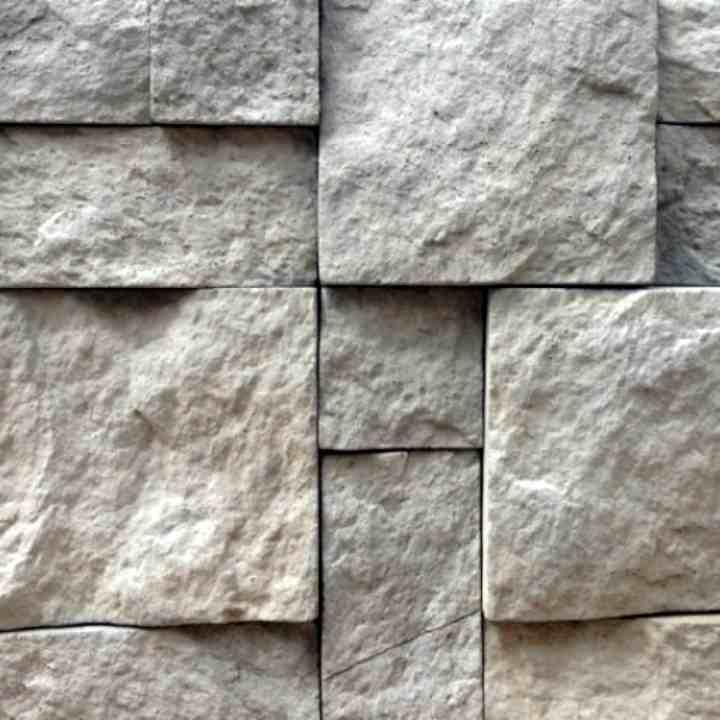 Рваный Камень Серый для внутренней отделки и облицовки
