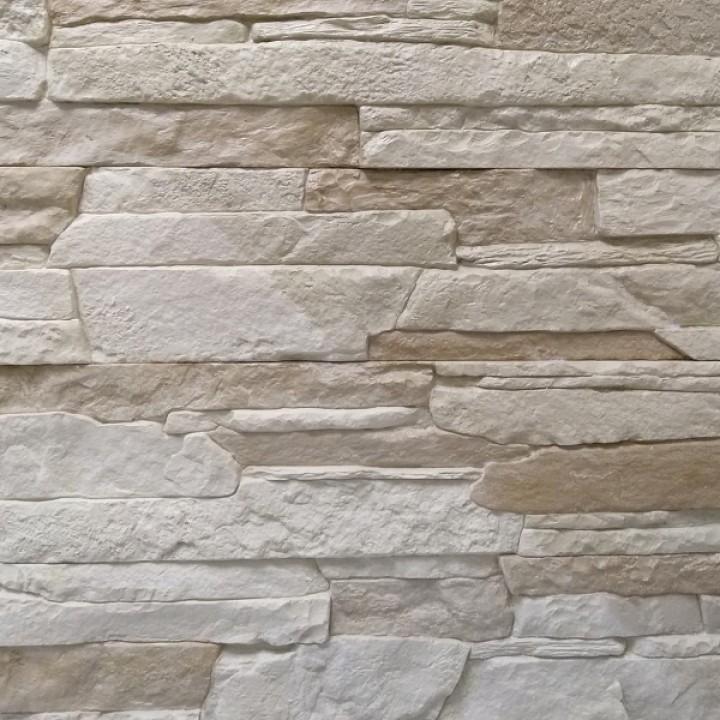 Сланец универсальный песочный для облицовки фасада